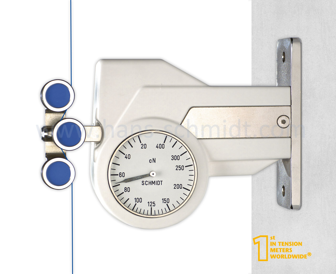 Tension Meter DX2S, stationary mechanical device - Hans Schmidt