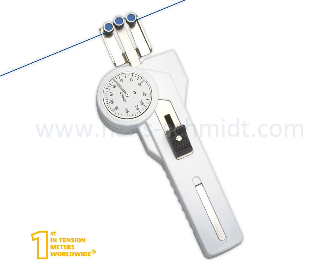 Tension Meter DXE, hand-held mechanical device - Hans Schmidt