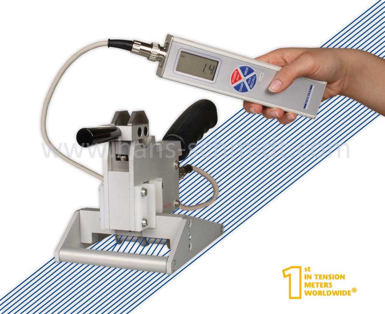 Tension Meter KXE, hand-held electronic device - Hans Schmidt