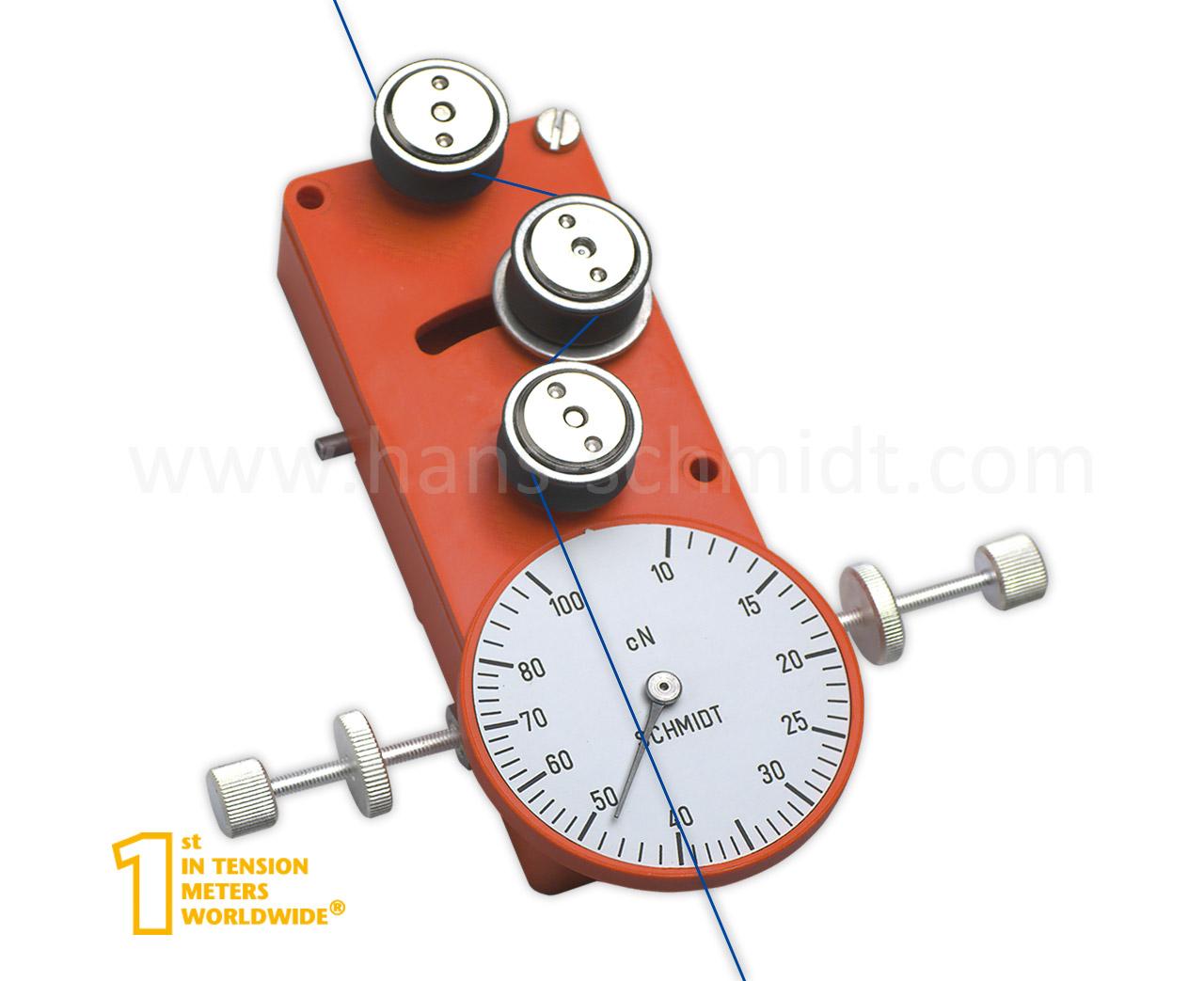 Tension Meter MK, stationary mechanical device - Hans Schmidt