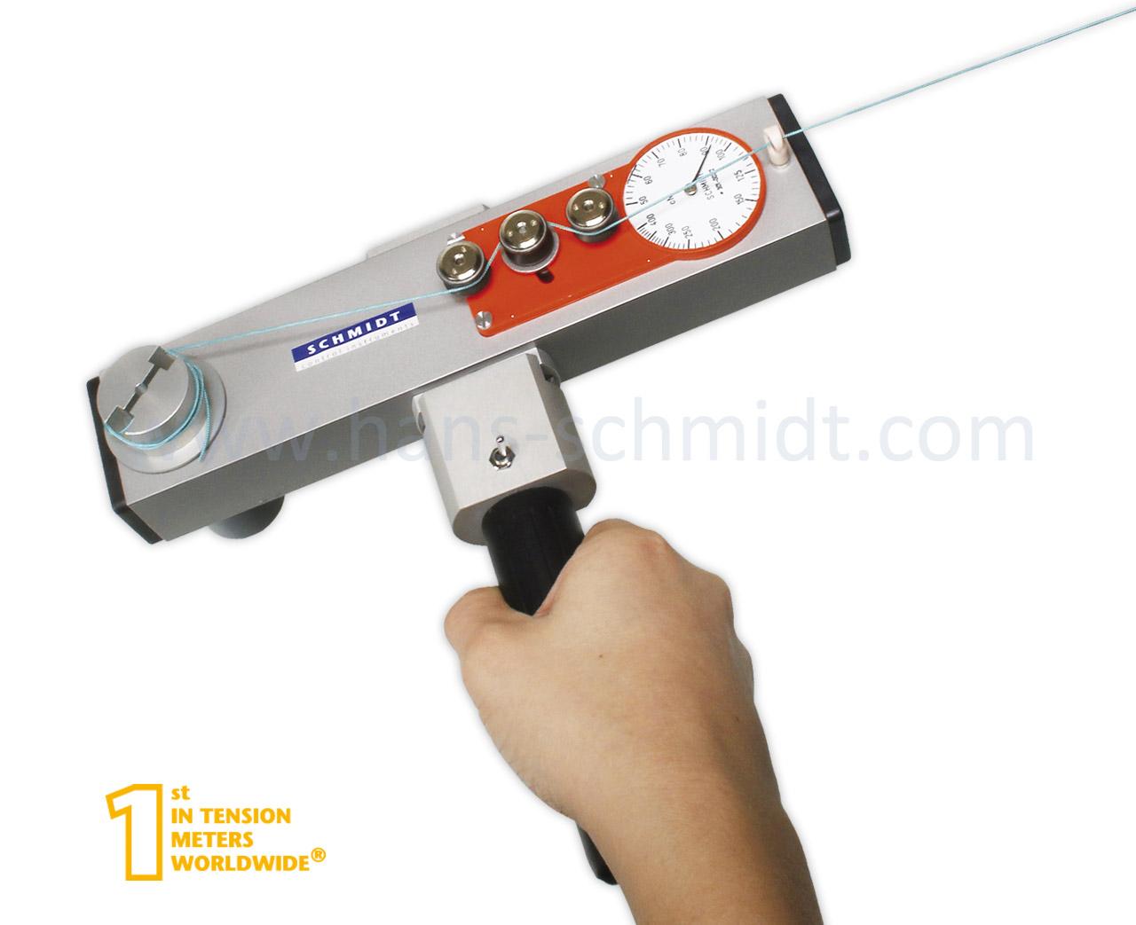 Tension Meter MKM, hand-held mechanical device - Hans Schmidt