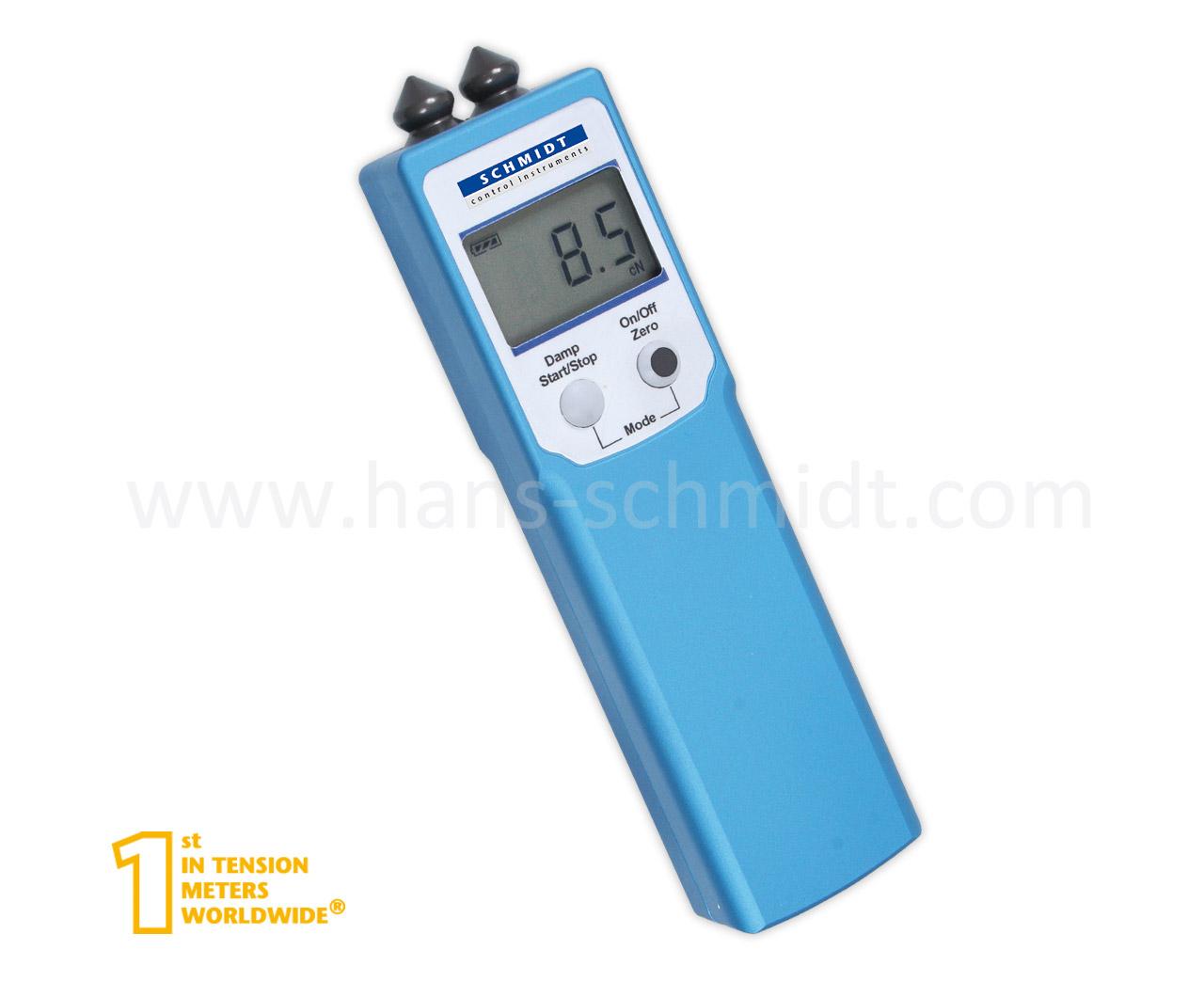 Tension Meter PT-100, hand-held electronic device - Hans Schmidt