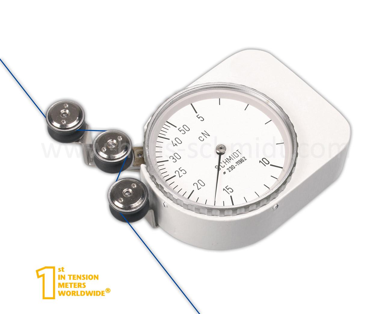 Tension Meter Q, stationary mechanical device - Hans Schmidt