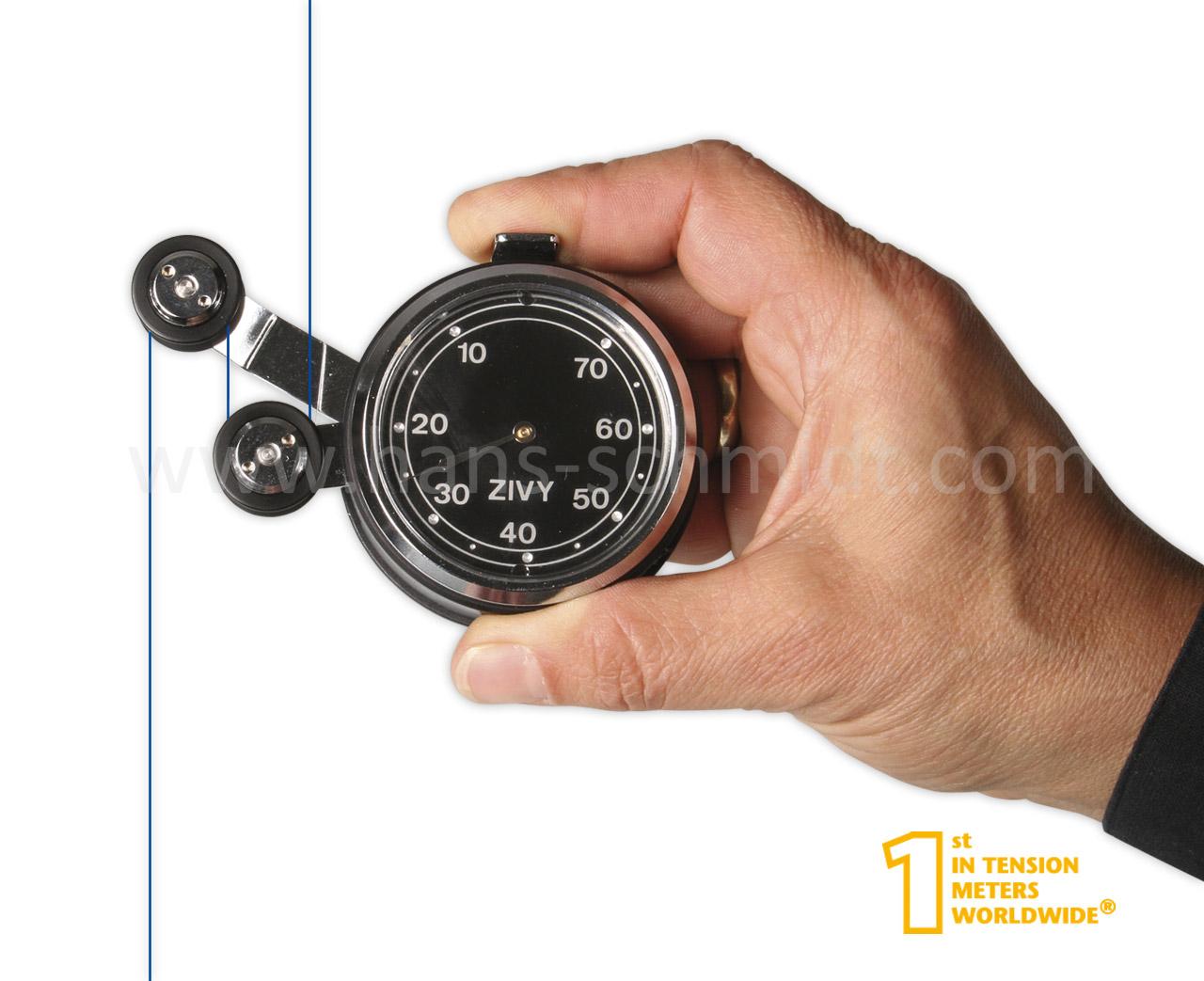 Tension Meter TEN, hand-held mechanical device - Hans Schmidt