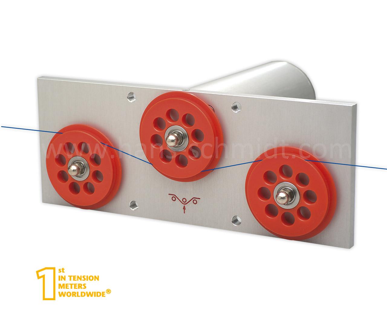 Stationäre elektronische Zugspannungssensoren für Drähte bis 2000 cN