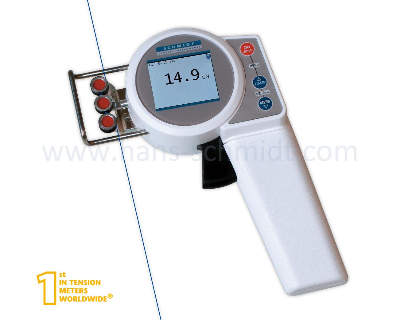 Tension Meter ZEF, hand-held electronic device - Hans Schmidt